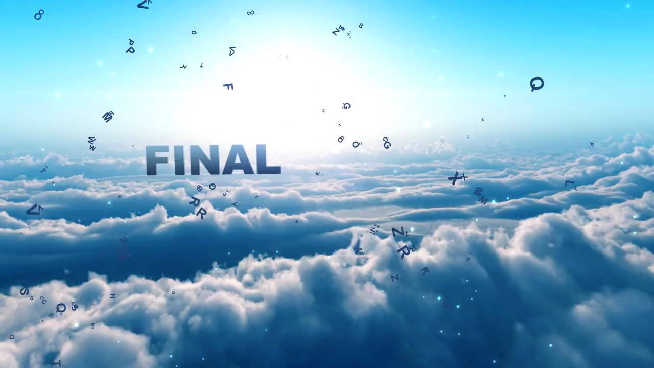 Dancing Clouds Intro After Effects Template YouTube - Purchase after effects templates