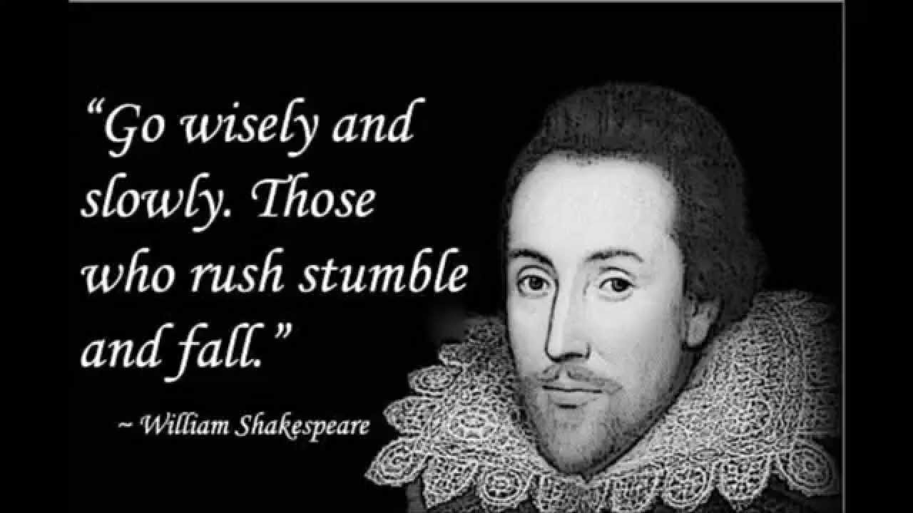 Famous Quotes Shakespeare About Love