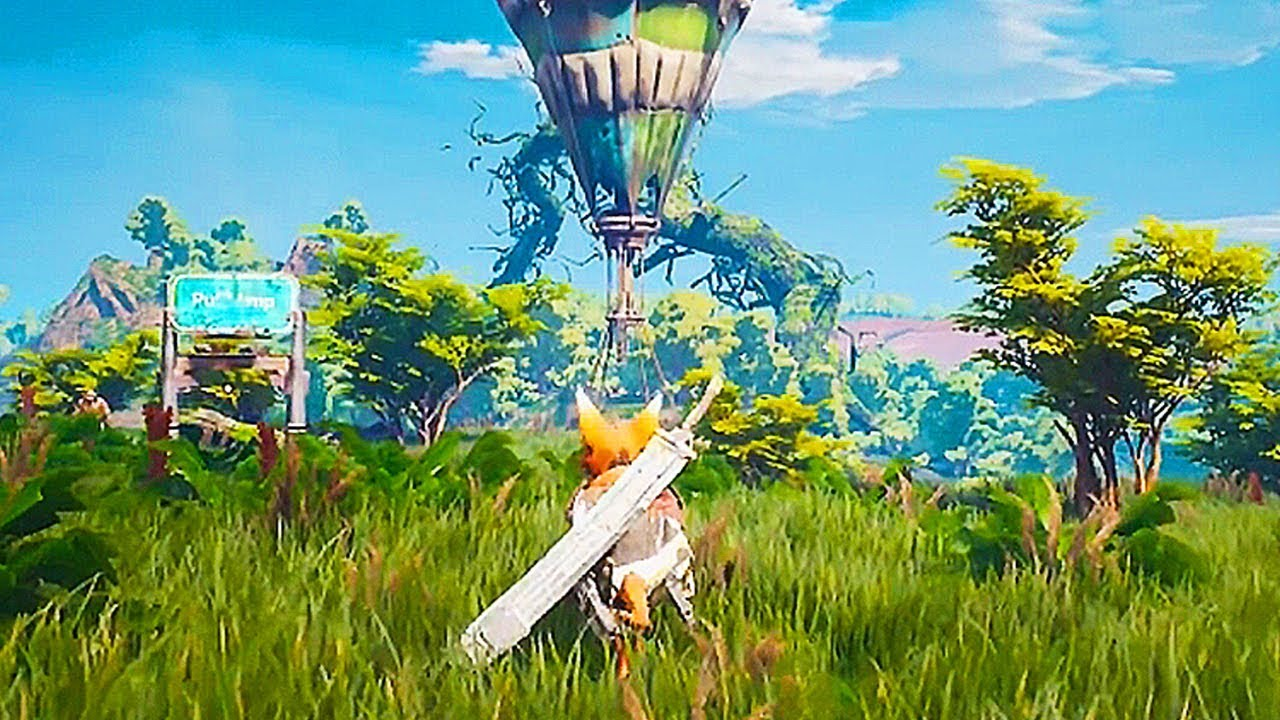 Biomutant 12 Minutes Of Gameplay Demo Ps4 Xbox One Pc