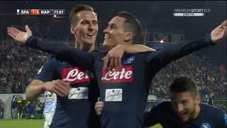 Gol Spal-Napoli 2-3