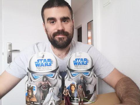 Heti videók: 11# Star Wars Legacy figurák 1.rész