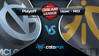 [PT-BR] Vici Gaming vs Fnatic - DreamLeague 11 - Dota 2 Major