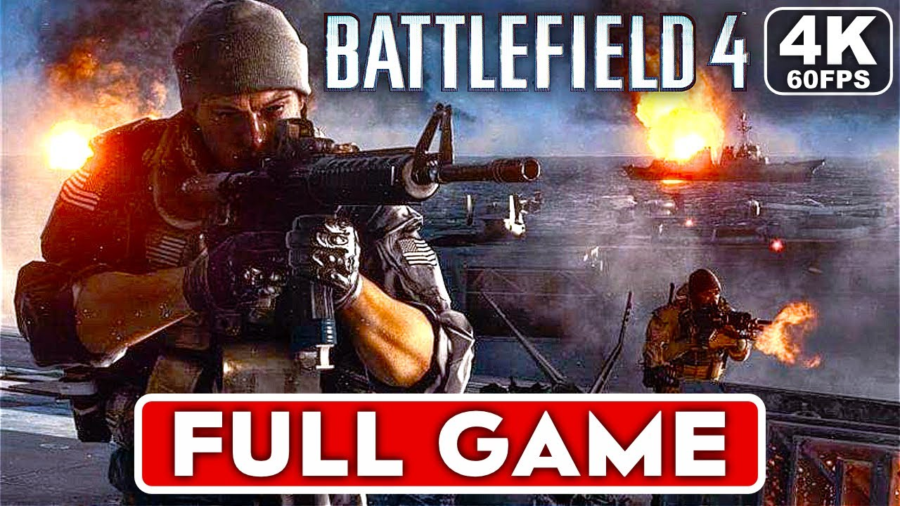 BATTLEFIELD 4 Gameplay Walkthrough Part 1 FULL GAME [4K 60FPS PC RTX 3090] - No Commentary