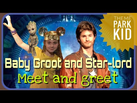 Baby groot and starlord hollywood studios disney guardians of the baby groot and starlord hollywood studios disney guardians of the galaxy meet and greet new 2017 m4hsunfo