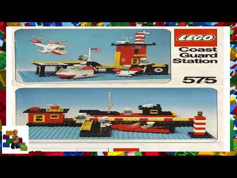 LEGO instructions - Legoland - 575 - Coast Guard Station