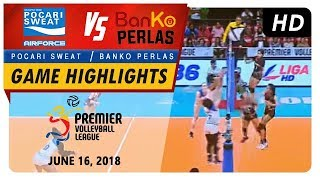 Pvl rc season 2 - wd: lady warriors vs. perlas spikers | game highlights | june 16, 2018