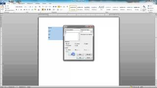 11.3 Adding Leader Tabs - MS Word (Urdu) - MS Office 2010 Tutorials