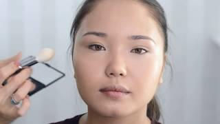 Макияж для азиатских глаз азиатское веко вечерний макияж в особый день Julia Shavlova