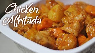 Tender and Flavorful CHICKEN AFRITADA