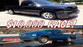 $10,000 Street Race - Turbo LS AWD Truck vs Nitrous BBC S10