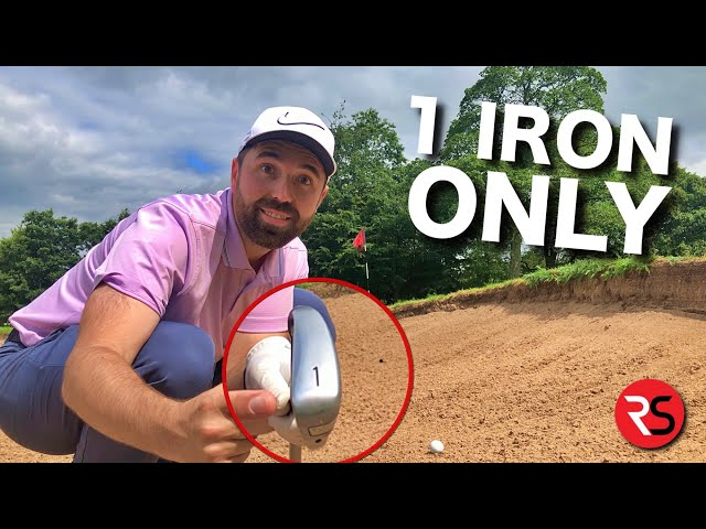 Playing golf with a 1 iron (16°) for EVERY shot!