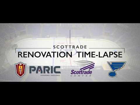 Scottrade Center Ice Time-lapse