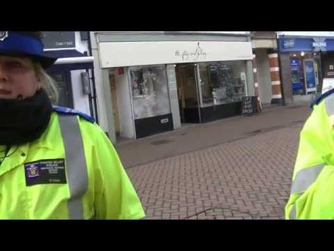 PCSOs try to use new Antisocial Behaviour, Crime and Policing Act. #EpicFail
