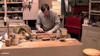 Paul Sellers Makes A Dovetail Box (part 4 Of 4) - Setting Hinges
