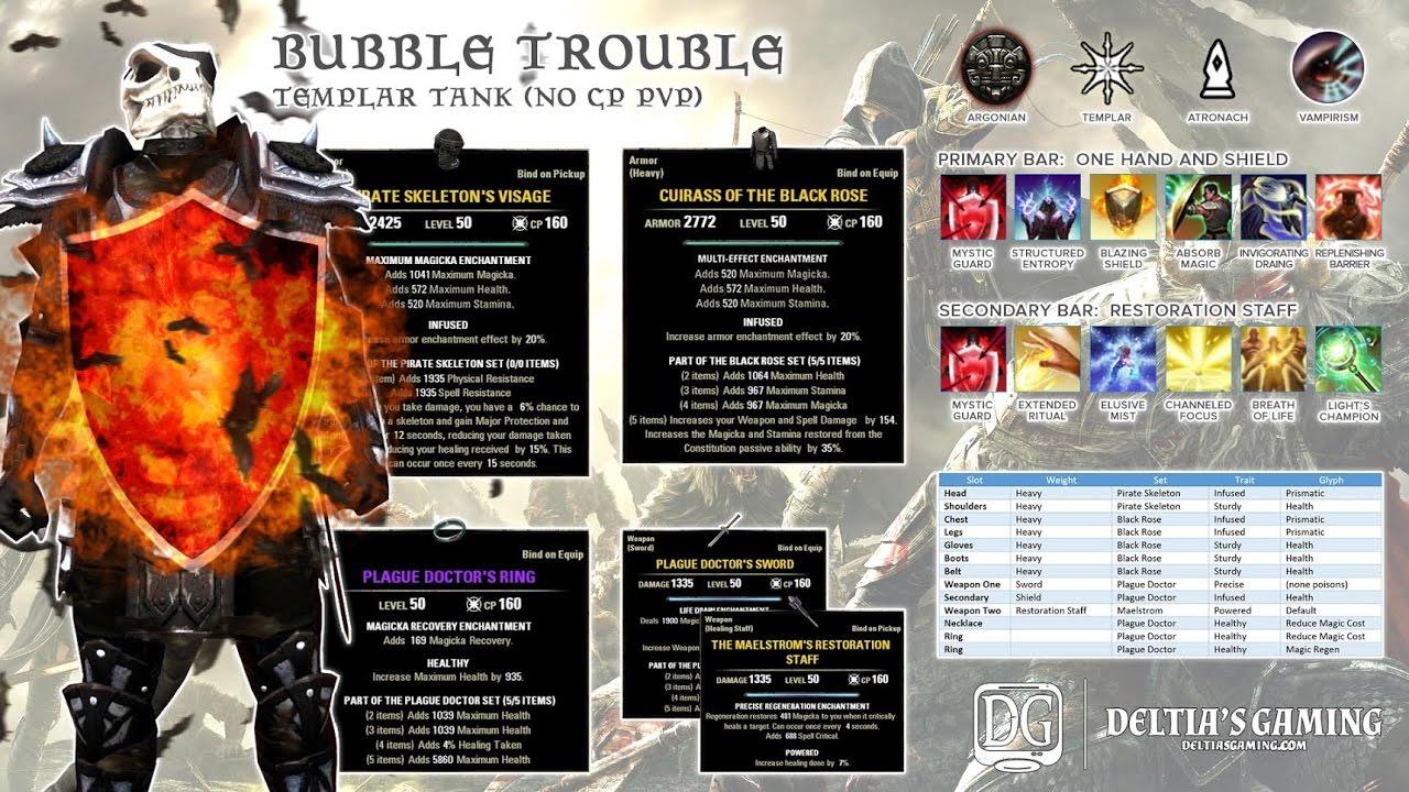 ESO PvP Templar Tank - Deltia's Gaming