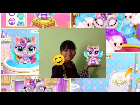 Main game Twinkle - Unicorn Cat princess 😱🥰 jadi pengen punya kucing unicorn 🤣