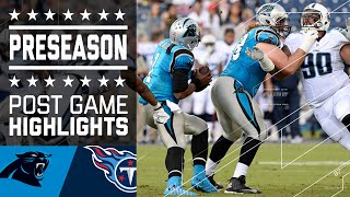 Panthers vs. Titans | Game Highlights | NFL