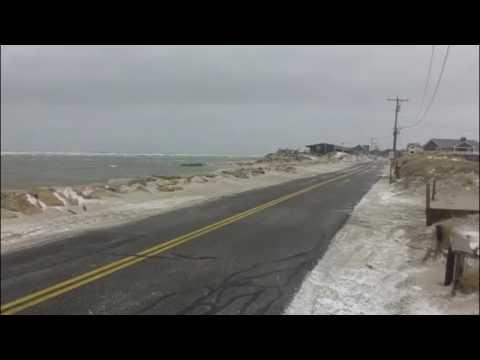 Time lapse of coastal flooding - Dennis MA Feb 13, 2017
