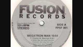 Patrick Cowley-Megatron Man (Ultra Rare DEMO Version)