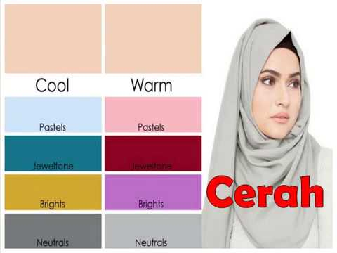 Tips Menyesuaikan Warna Hijab Dengan Warna Kulit Youtube