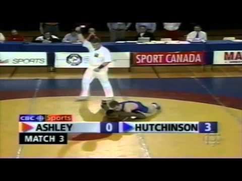 1996 Olympic Trials: 52 kg GR Final Kerry Ashley vs. Andy Hutchinson Match 3