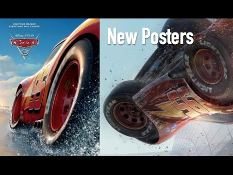 Cars 3 New Official Posters Beach Crash Scenes Speculation