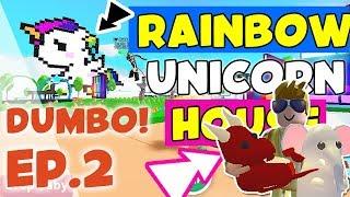 EPISODE TWO: DUMBO THE RAINBOW! ^ Unicorn House Tour with ROXY! ^ Adopt Me (Roblox)
