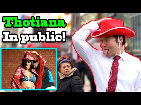 THOTIANA - Blueface CARDI B - Thotiana dance challenge in PUBLIC