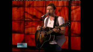 Kris Allen - Heartless live on Ellen 5/26/09