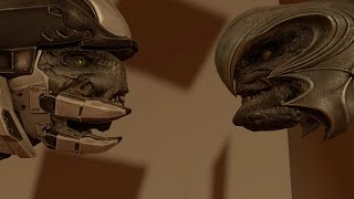 Halo 2 Anniversary  Old Cinematics in Remastered Mode Glitch
