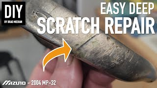 DIY Golf Club Restoŗation - Repair Large Scratches and Gouges with Copper