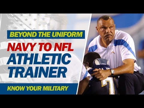 Navy to NFL Athletic Trainer