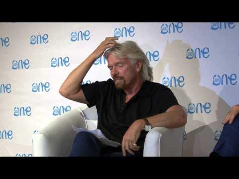 Richard Branson talks entrepreneurship
