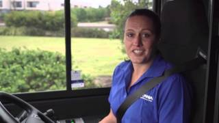 Scania Bus Driver Training - In The Drivers Seat