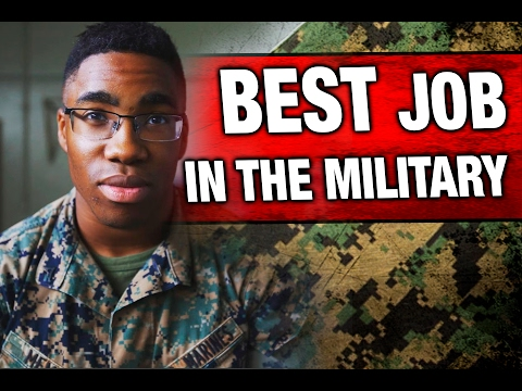 Choosing The Best Job In The Marine Corps