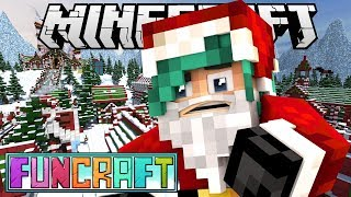Video SANTA IN THE SUMMER?! - Minecraft FunCraft SMP - Ep.29 download MP3, 3GP, MP4, WEBM, AVI, FLV Juni 2018