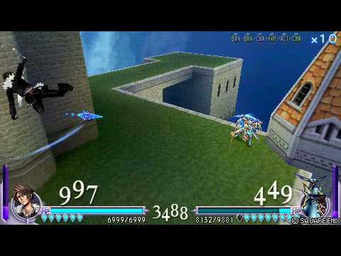 Dissidia: Final Fantasy - Squall Move Exhibition Part 1