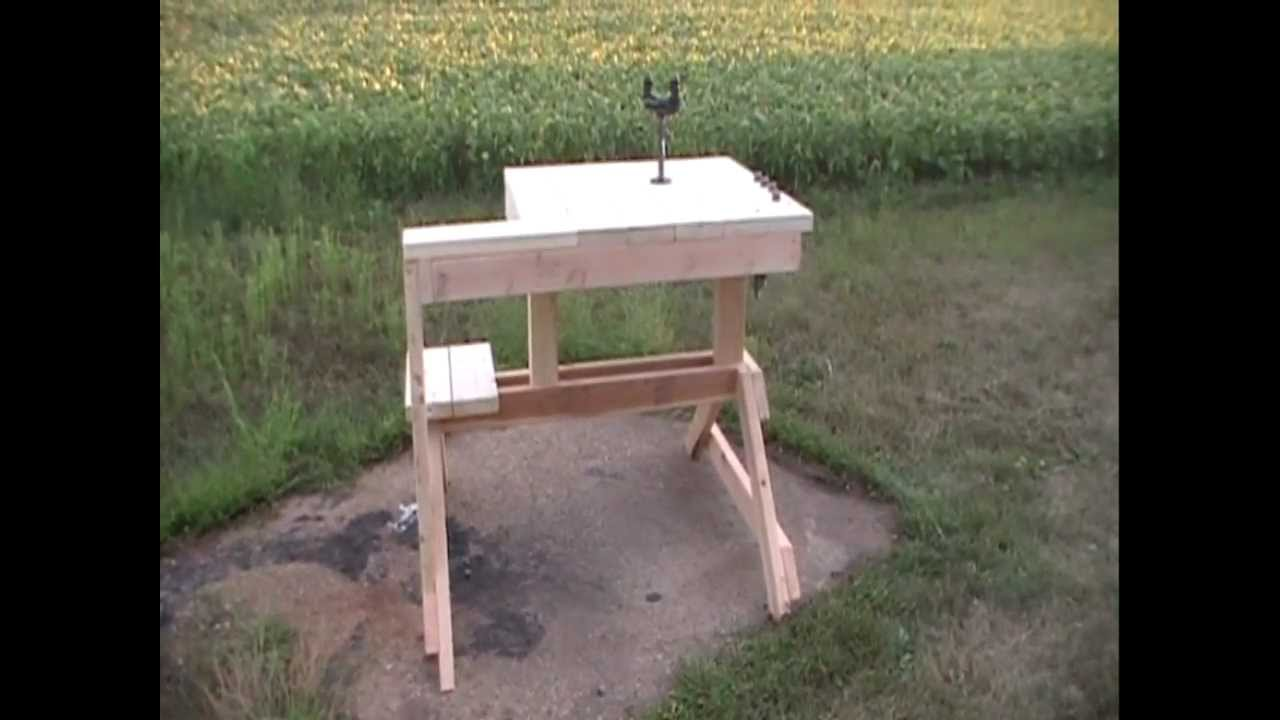 Awesome Rifle Shooting Bench By HPFirearms   YouTube