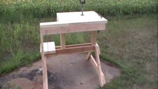 Rifle Shooting Bench By Hpfirearms