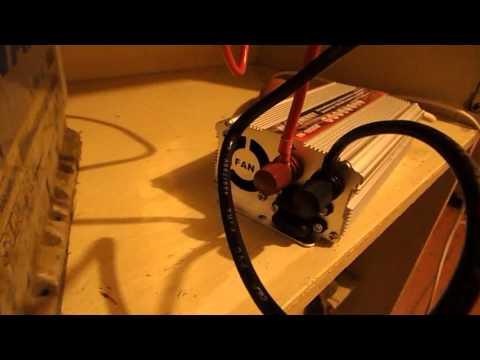 Автомобильный преобразователь напряжения(инвертор)12В/220В. Мощность 1000 Ватт
