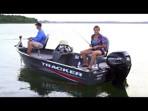 TRACKER Boats: 2017 Super Guide V-16 SC Deep V Fishing Boat