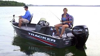 TRACKER Boats: 2017 Super Guide V-16 SC Deep V Fishing Boat