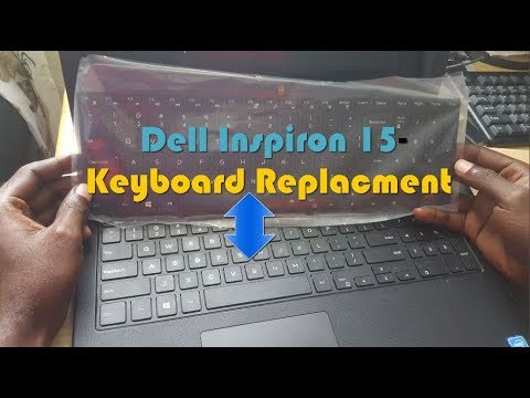 Dell Inspiron 15-3000 series dead Keyboard replacment
