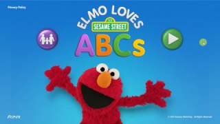 Elmo Loves ABCs - Learn Letters A - H - Best Educational Games for Kids