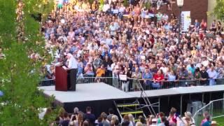 Bernie Sanders Reno 4k