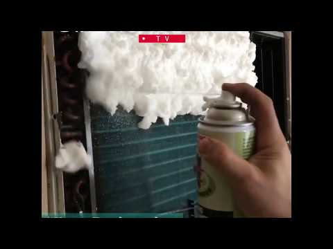 Aircon Foam Cleaning Spray for HVAC Professionals