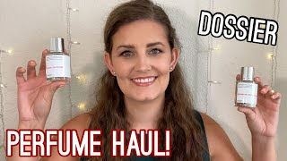 DOSSIER PERFUME HAUL!   FIRST IMPRESSIONS