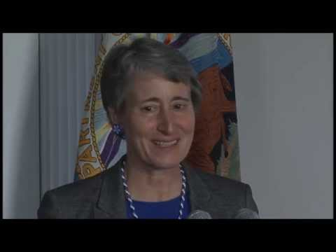 Secretary Jewell Signs Historic Water Rights Agreement with Shoshone-Paiute Tribes & State of Nevada