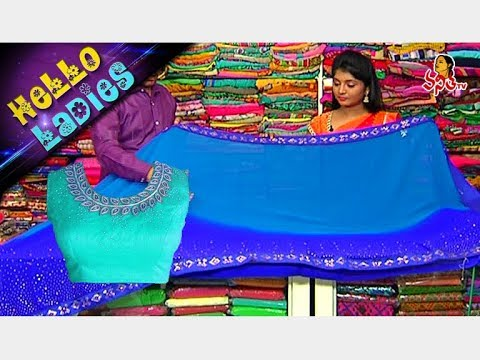 Navaratri Special Collection    Kora Silk & Chanderi Kora Sarees    Hello Ladies    Vanitha TV