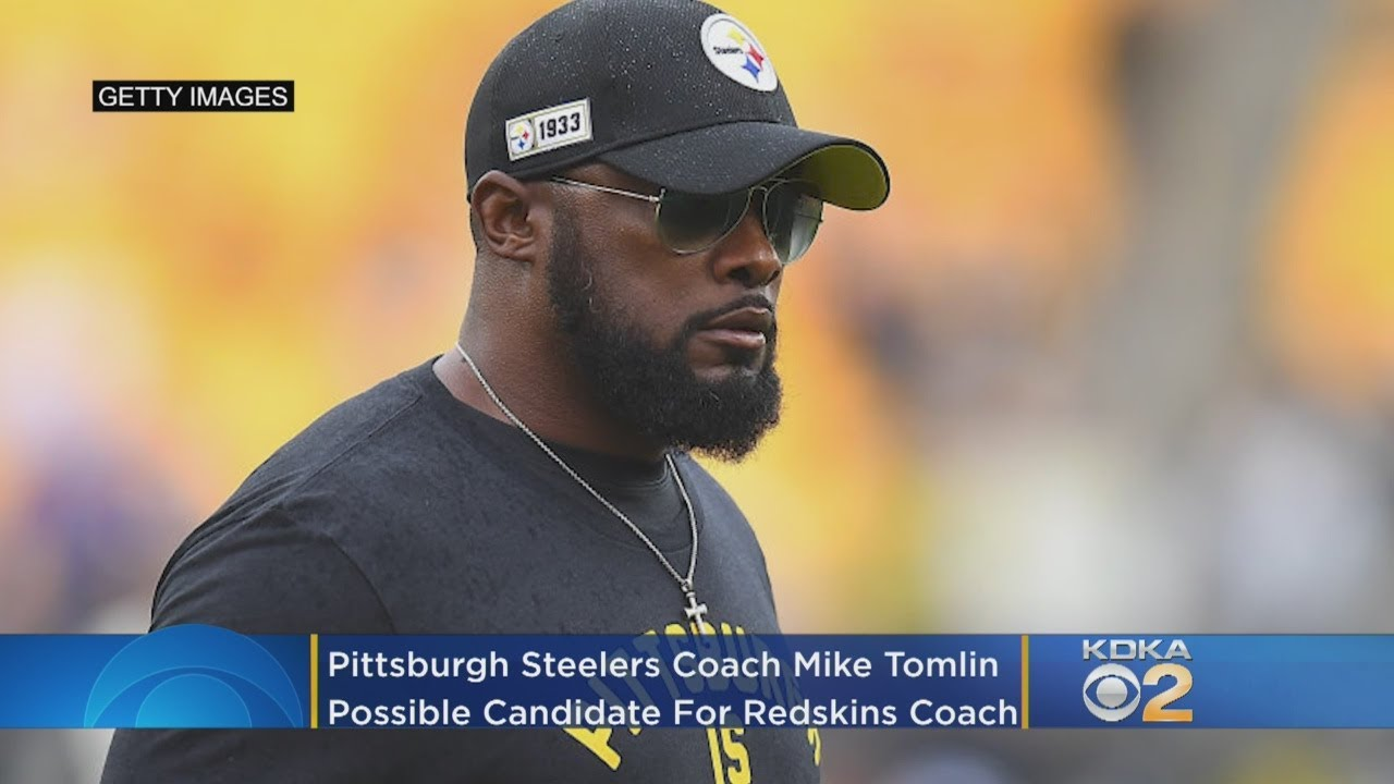 Pittsburgh Steelers Head Coach Mike Tomlin Named Candidate For Redskins Head Coach Position After Fi